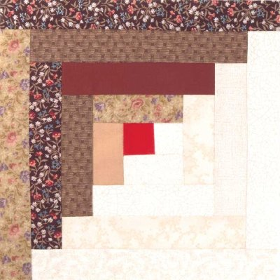 Friday Free Quilt Patterns: Log Cabin Baby | McCall's