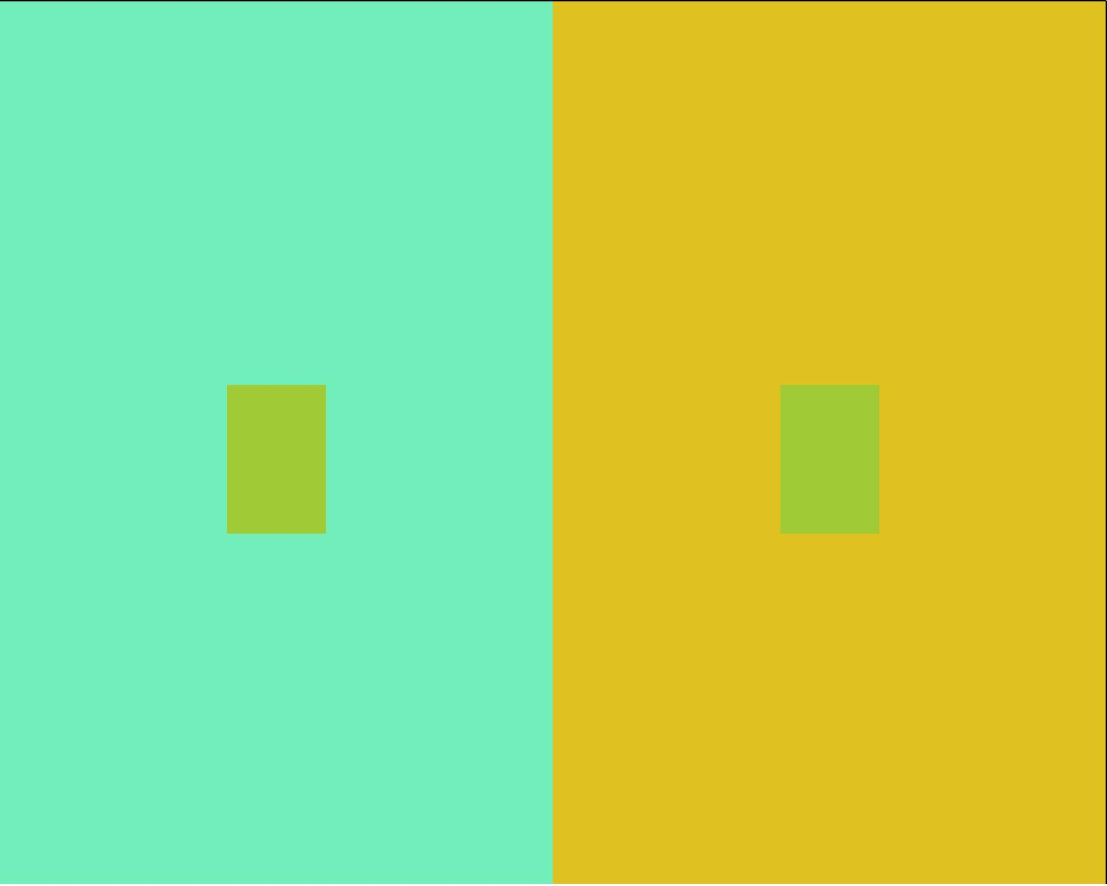 обман зрения цветами при смешивании цветов