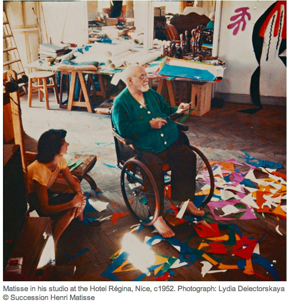 Henri Matisse_ The Cut-Outs review – _the lesson of a lifetime_   Art and design   The Observer