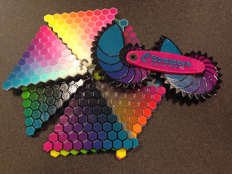 stratasys color chart