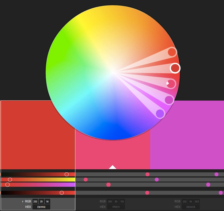 Color wheel | Color schemes - Adobe Color CC